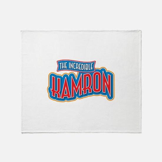 The Incredible Kamron Throw Blanket