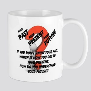 Your Past, Your Present, Your Future Mug