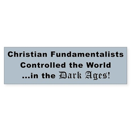Controlled the World Bumper Sticker