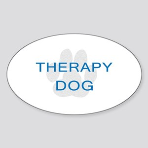 Therapy Dog Sticker
