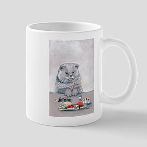 Sushi Cat- The Grump Mug
