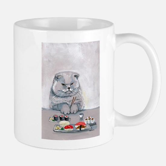 Sushi Cat- The Grump Mug