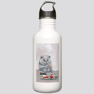 Sushi Cat- The Grump Water Bottle