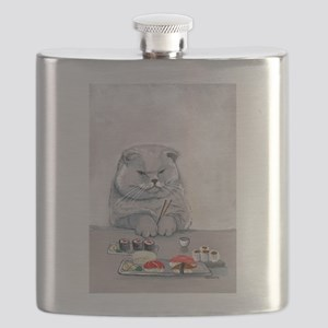 Sushi Cat- The Grump Flask