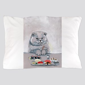 Sushi Cat- The Grump Pillow Case