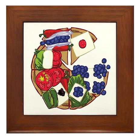 PIZZA Framed Tile