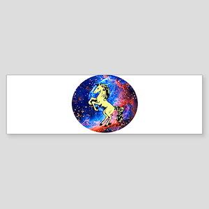 Space Unicorn Bumper Sticker