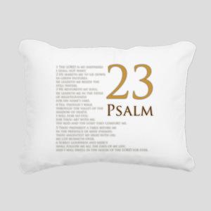 PSA 23 Rectangular Canvas Pillow