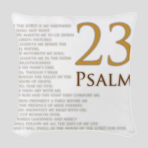 PSA 23 Woven Throw Pillow