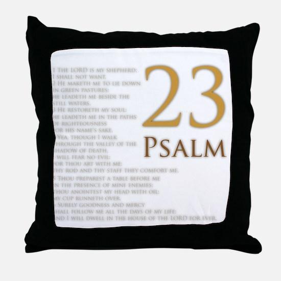 PSA 23 Throw Pillow