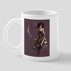 Pirate Lady Mug