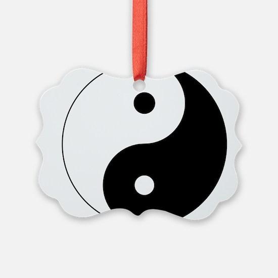 Unique Yin yang Ornament
