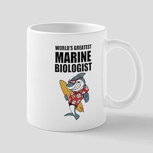 Worlds Greatest Marine Biologist Mug