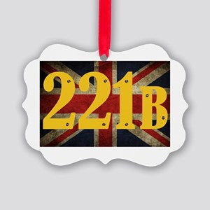 221B Flag Ornament