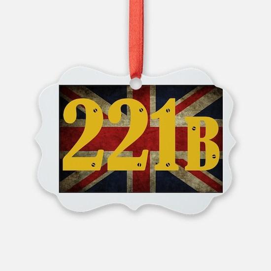 221B Flag Ornament