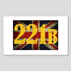 221B Flag Sticker