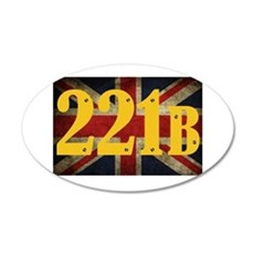 221B Flag Wall Decal