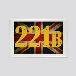 221B Flag Rectangle Magnet