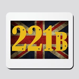 221B Flag Mousepad