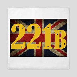 221B Flag Queen Duvet