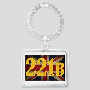 221B Flag Keychains