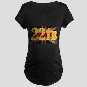 221B Flag Maternity T-Shirt