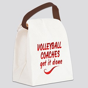 Volleyball Coaches Canvas Lunch Bag