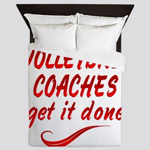Volleyball Coaches Queen Duvet