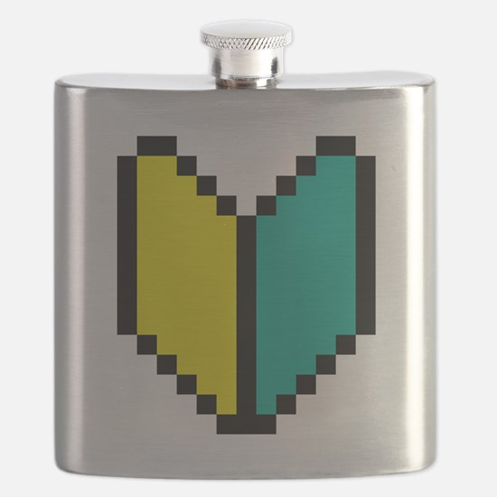 Pixel Wakaba / Shoshinsha Mark Flask