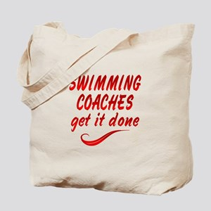 Swimming Coaches Tote Bag