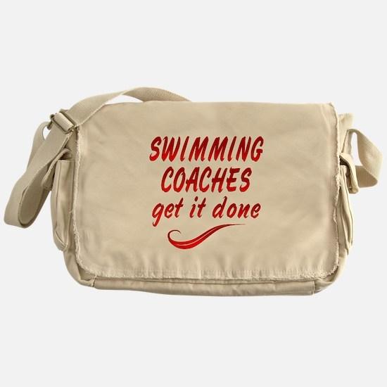 Swimming Coaches Messenger Bag