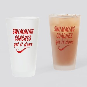 Swimming Coaches Drinking Glass