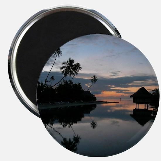 Tahiti Sunset Magnet