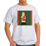Father Christmas Ash Grey T-Shirt