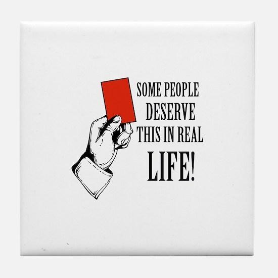 Funny Designs Tile Coaster