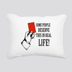 Funny Designs Rectangular Canvas Pillow