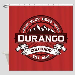 Durango Red Shower Curtain