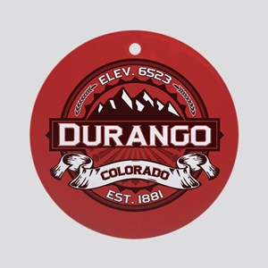 Durango Red Ornament (Round)