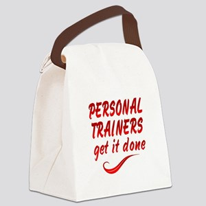 Personal Trainers Canvas Lunch Bag