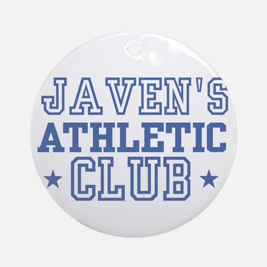 Javen Ornament (Round)