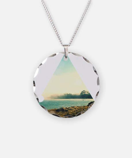 California Surf Triangle Necklace