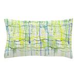Electric Rain Abstract Pillow Case