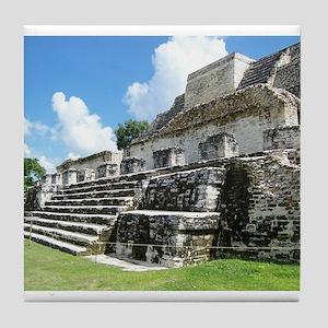 Altan-Ha Mayan Ruin in Belize, Central America Til