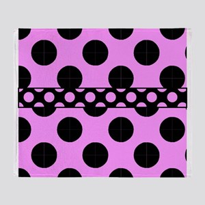 CP Duvet polka dots duvet 4 Throw Blanket