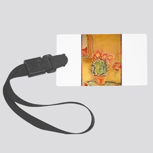 Cactus! Southwest art! Luggage Tag