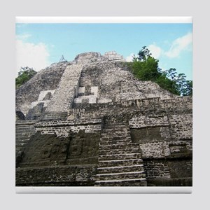 "Ancient Mayan Ruins ""Lumanai"" in Belize Tile Coast"