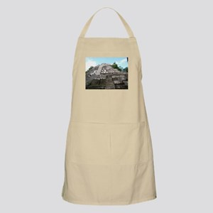 "Ancient Mayan Ruins ""Lumanai"" in Belize Apron"