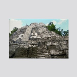 "Ancient Mayan Ruins ""Lumanai"" in Belize Rectangle"