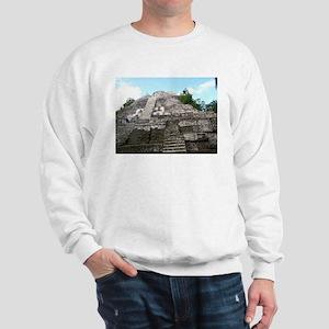 "Ancient Mayan Ruins ""Lumanai"" in Belize Sweatshirt"