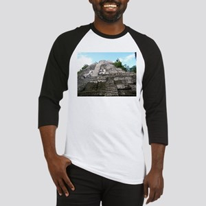 "Ancient Mayan Ruins ""Lumanai"" in Belize Baseball J"